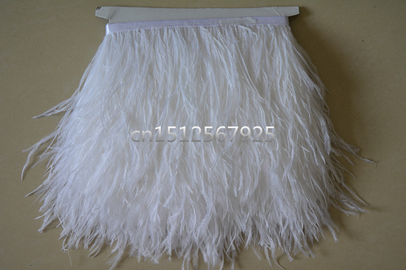 14 New Sell high quality ostrich feather cloth belt 10 yards long feather cloth belt