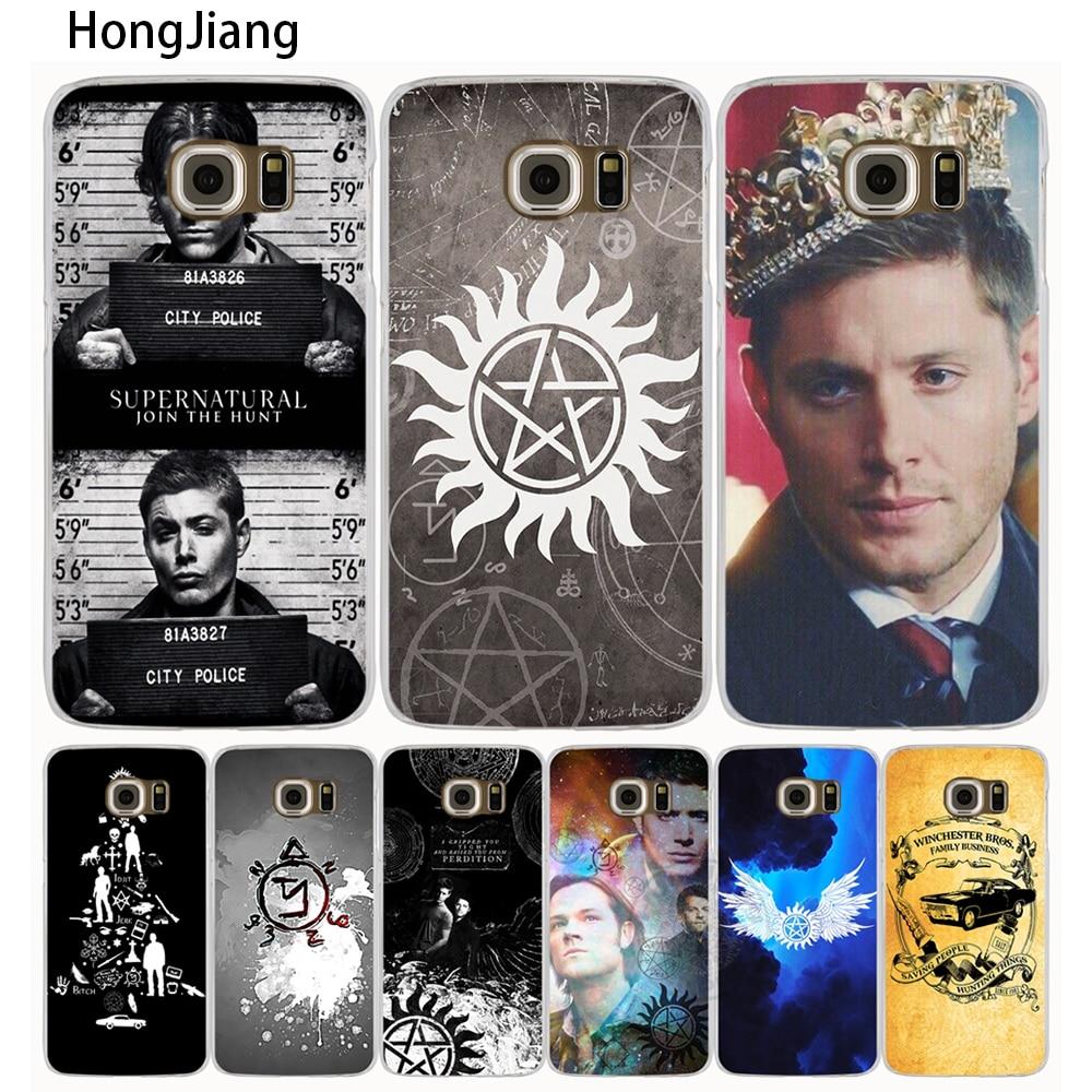 HongJiang <font><b>Supernatural</b></font> cell <font><b>phone</b></font> <font><b>case</b></font> cover for Samsung Galaxy A3 A310 A5 A510 A7 A8 A9 2016 2017