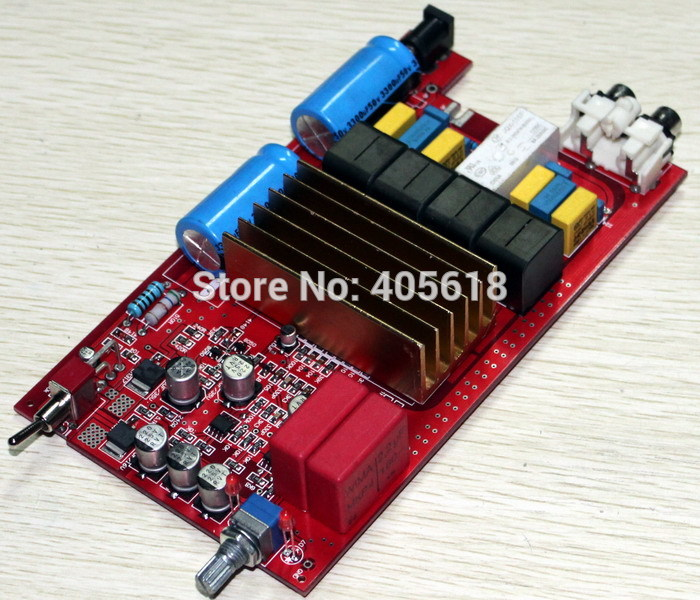 цена на TDA7498 +A1 Upgrade the digital amplifier board Fever amplifier board DC32V power supply 100w+100W Electricity Generation