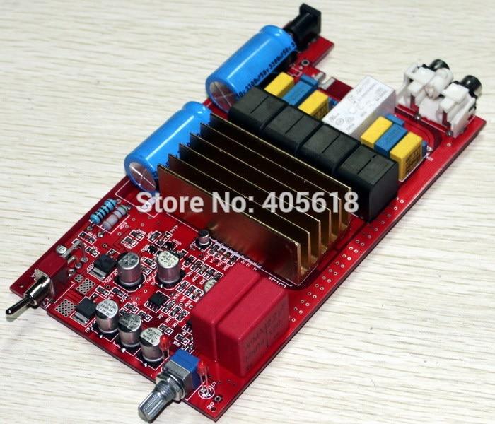 где купить TDA7498 +A1 Upgrade the digital amplifier board Fever amplifier board DC32V power supply 100w+100W Electricity Generation по лучшей цене