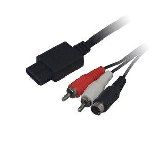 Image 4 - 10 قطعة عالية الجودة S فيديو كابل RCA AV الحبل ل نينتندو 64 ل N64 ل SNES ل جيم كيوب GC سوبر نينتندو
