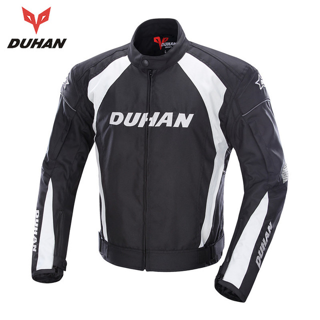 DUHAN Men Motorcycle Body Protective Jacket Motorbike Racing Jacket Protector Motorcycle Biker Jacket