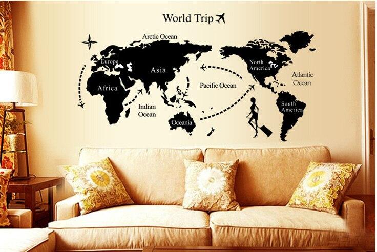decoration murale autocollante. Black Bedroom Furniture Sets. Home Design Ideas