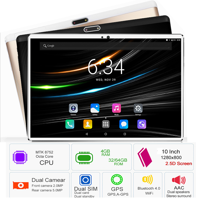 Latest Version 3G 4G LTE DHL Free Shipping 10 inch Tablet PC Octa Core 4GB RAM