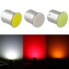 цена на 1 Piece Ba15s Cob P21w LED 12 SMD 1156 12V LED Bulbs RV Trailer Truck Interior Lamp 1073 Parking Auto Car Light White
