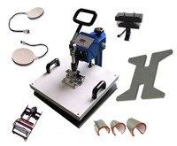 9in1 11X15 Transfer Heat Press Machine for T Shirt Mug Cup Hat Cap 9IN1 Combo heat press machine