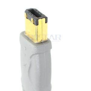 Image 2 - 4.5 M 4 P 4 פינים עד 6 פינים IEEE 1394 iLink מתאם כבל IEEE1394 4Pin כדי 6Pin Firewire כבל עבור DV