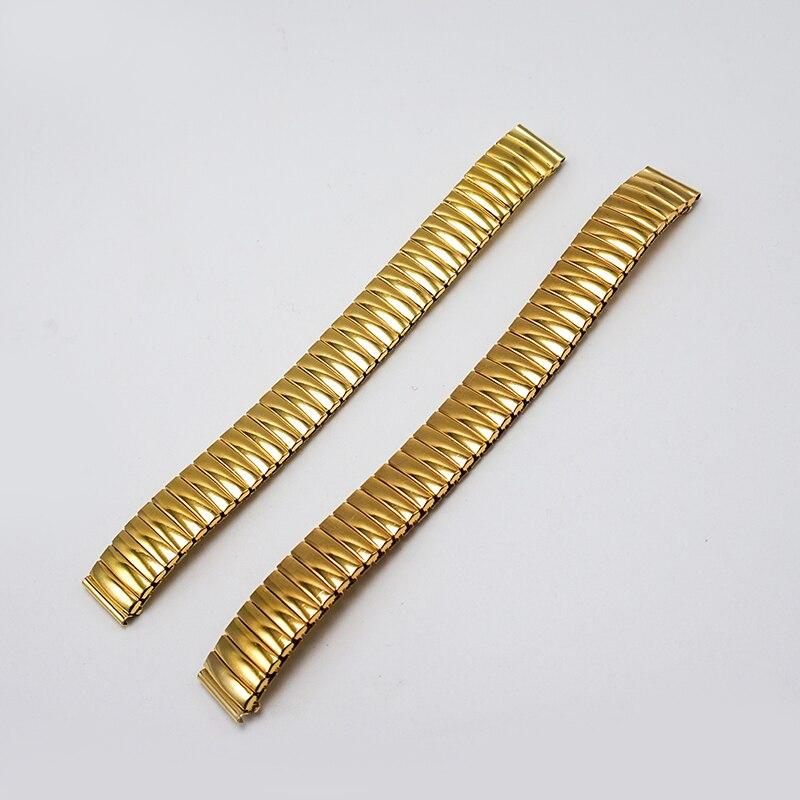 Watchband 14MM Golden Lady watch strap 14MM 2017 watchbands 14mm watch band new cinturino orologio correas para reloj FZ023 цена и фото