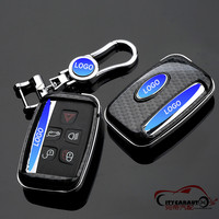 CITYCARAUTO CARBONCAR KEY COVER CASE KEY BAG FOR CAR FIT FOR RANGROVER EVOQUE FREELANDER 2 DOSCOVERY3/4 CAR