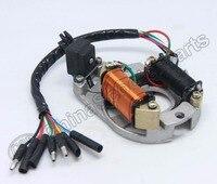 Magneto Stator Plate AC 2 Pole 5 Wire 50CC 70CC 90CC 110CC 125CC Lifan ZongShen Taotao