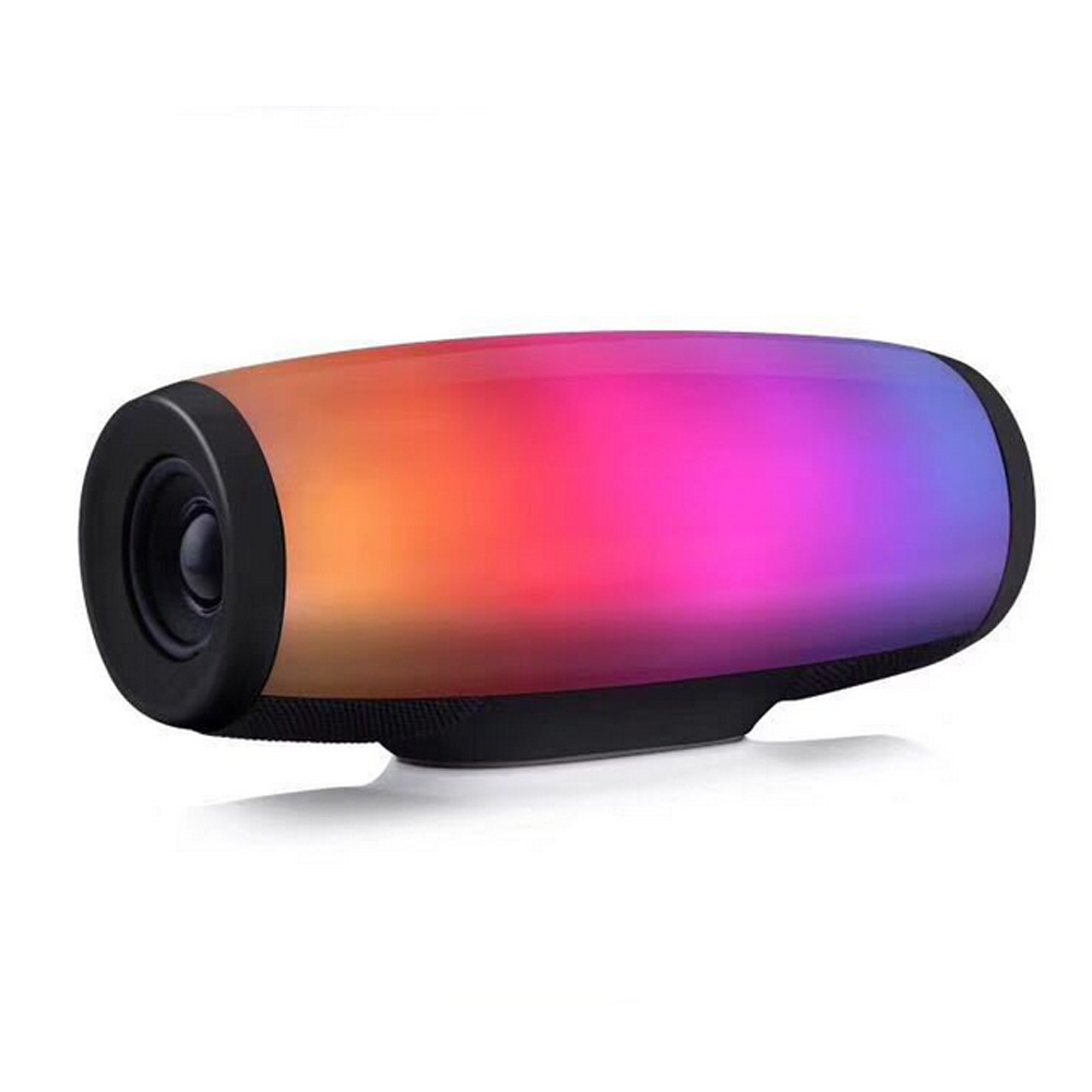 Wireless Bluetooth Speaker Portable Column Sound Box Colorful LED Lights Stereo Subwoofer Speaker Support Usb Tf Fm For Xiaomi