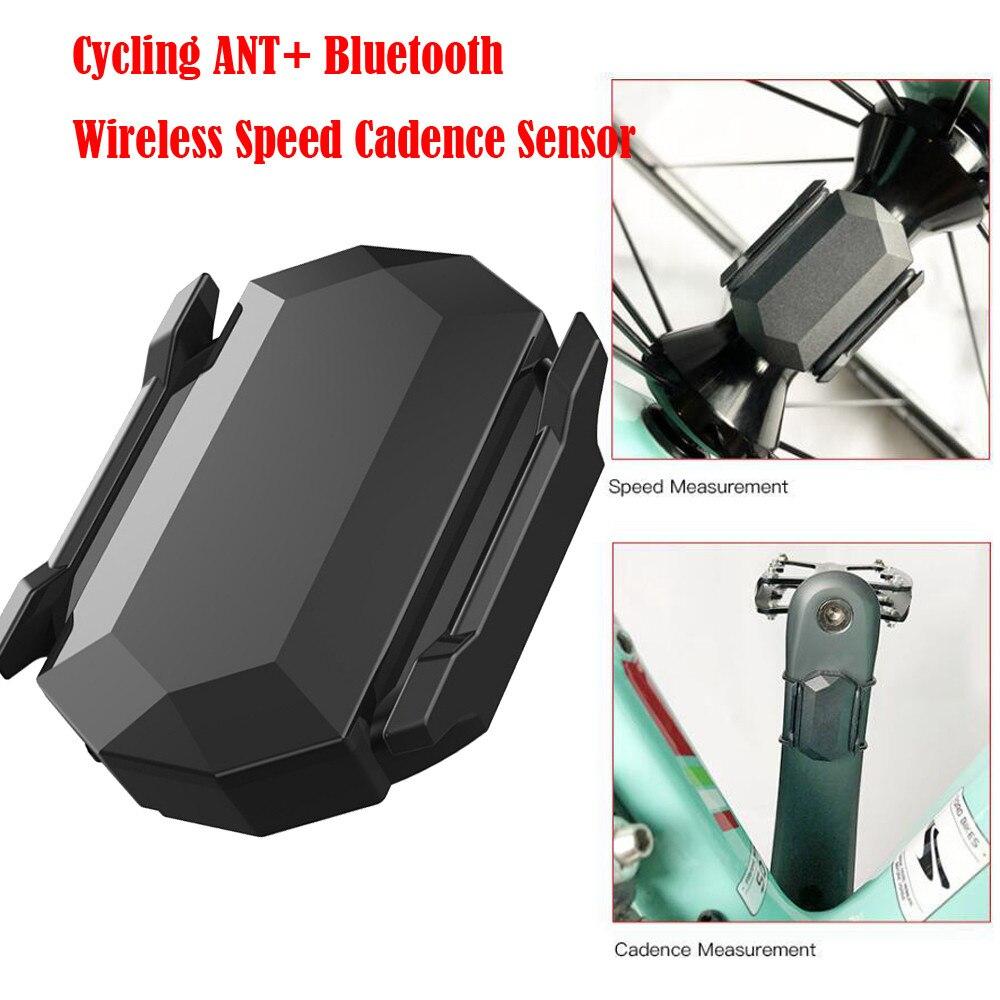Bluetooth Wireless Cycling ANT Speed Cadence Sensor For Garmin Bryton Bike GPS
