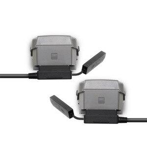 Image 4 - Autolader Voor Dji Mavic 2 Pro Drone Batterij Met 2 Batterij Poorten Opladen Snel Opladen Vervoer Reizen Outdoor Oplader