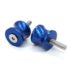 6mm Blue font b Motorcycle b font CNC font b Swingarm b font Sliders Spools Paddock