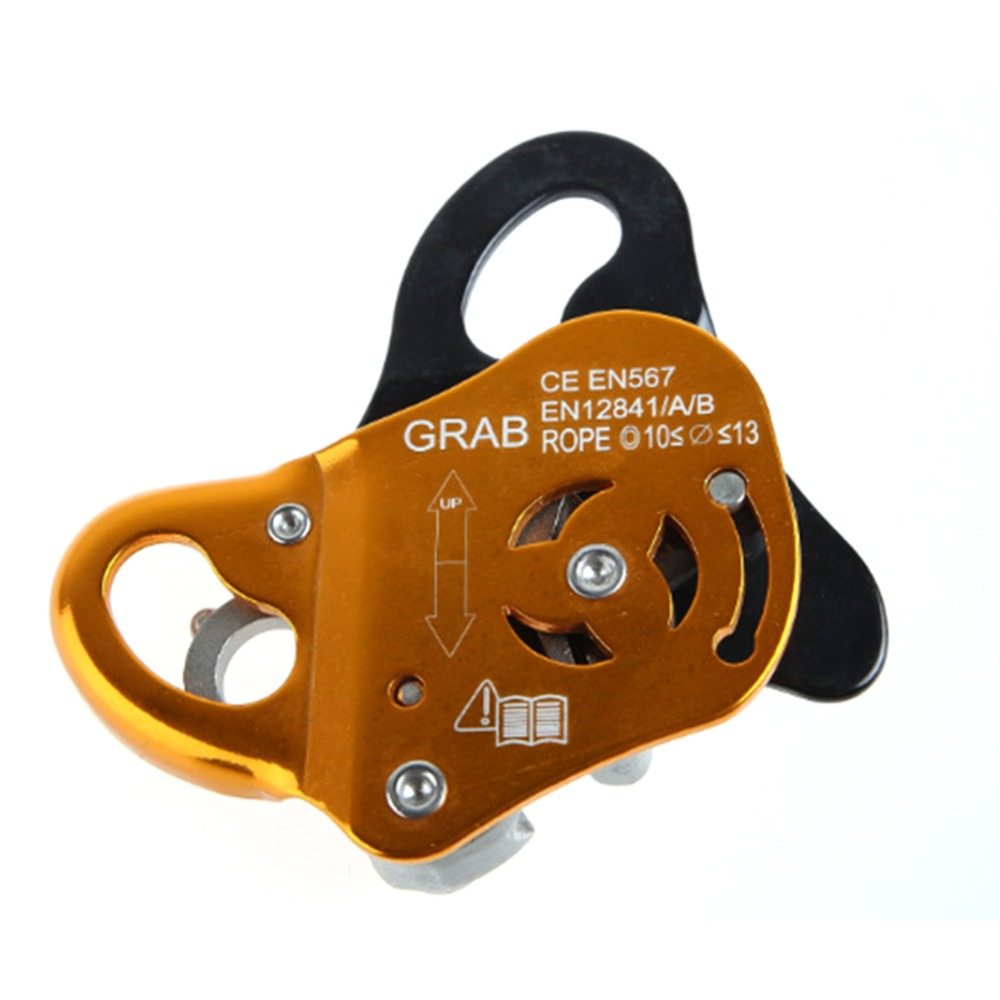 Aerial Work Climbing Rescue Fall Arrest Self-locking Protection Tool Removable Rope Grab Climbing Rescue DeviceAerial Work Climbing Rescue Fall Arrest Self-locking Protection Tool Removable Rope Grab Climbing Rescue Device