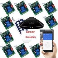 1 канал 220 В 30A Беспроводной Дистанционное управление переключатель Умный дом Системы Broadlink RM Pro + 12 приемник, iphone/Android WI FI + rf
