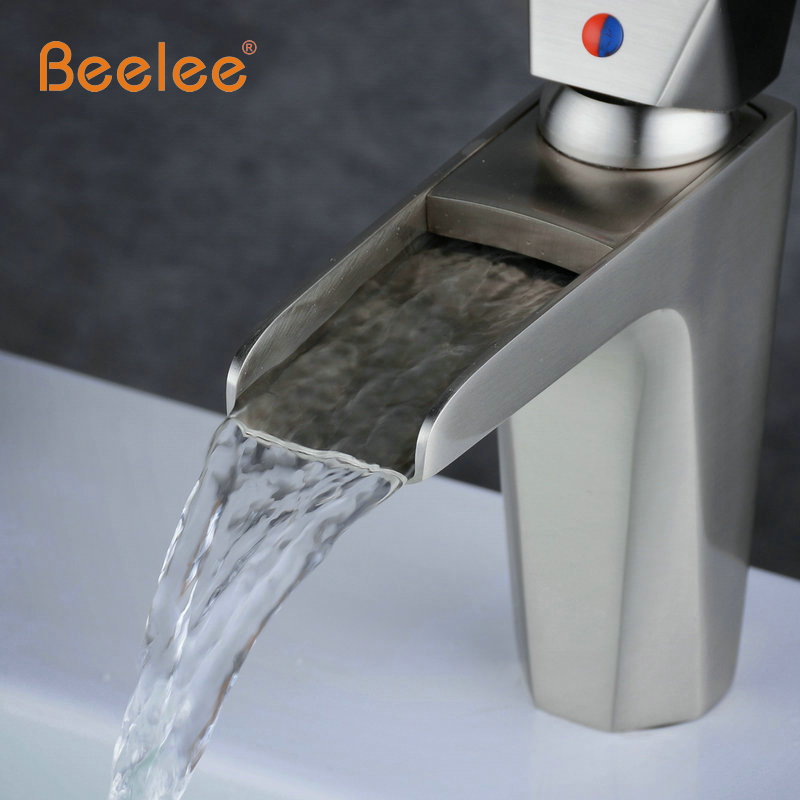 Beelee Bathroom Faucet Water Tap Cold And Hot Love Handle Bottom ...