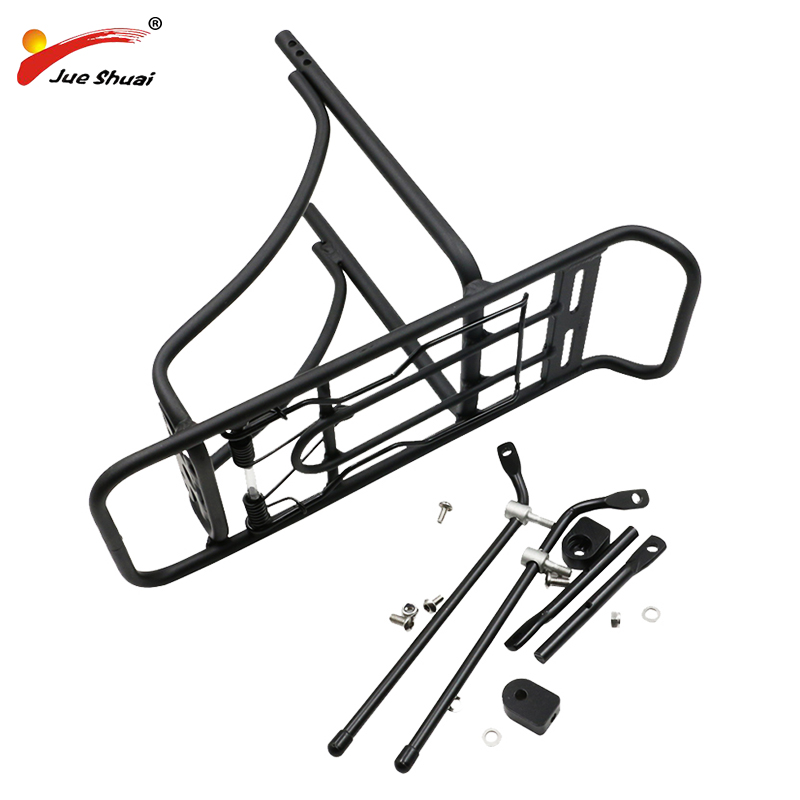 20 Bicycle Luggage Carrier Black Sliver Aluminum Rear Rack Cycling Shelf Bracket Trunk Bikes with Install Tools Free Shipping
