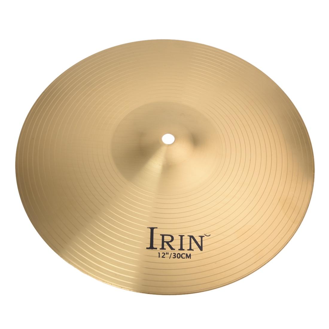 SALES 5xIRIN High Quality 12 Brass Crash Ride Hi-Hat Cymbals Box Drum Set Professional тарелка хай хэт zultan 13 hi hat cs series
