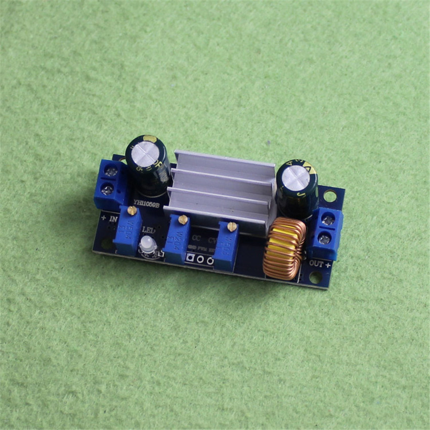 DC-DC buck 5A constant voltage and constant current module LED driver solar lithium battery charging belt PWM, C4A4