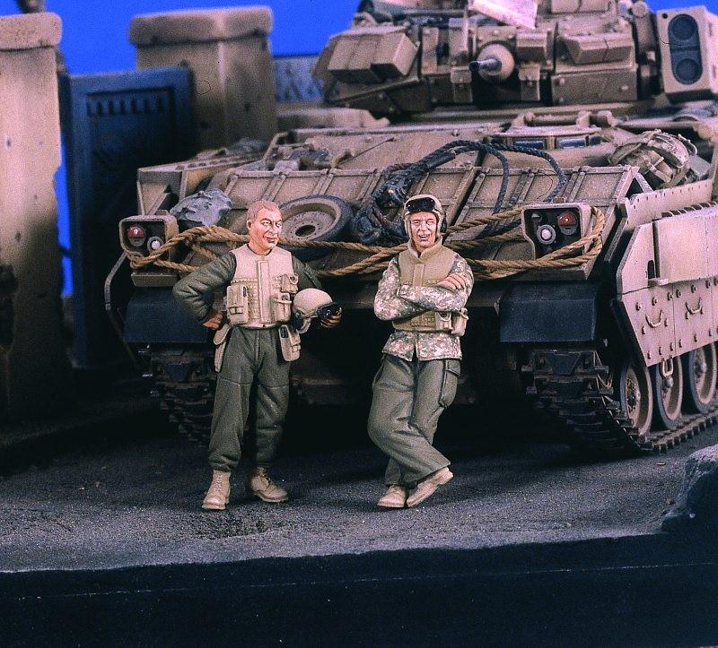 1:35 US Tank Crew Iraq