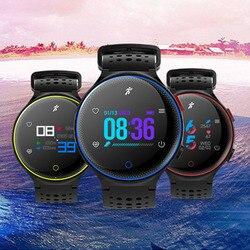 Inteligentne zegarki 2019 inteligentny cyfrowy Bluetooth Sport krokomierz dla IOS Android przypomnienie mężczyzna X2 tętno kalorii Smartwatch