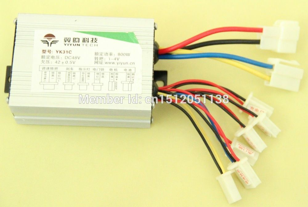 Beautiful 24v 350w Brush Dc Motor Controller Yiyun Yk31c For E-bike Electric Bike Bicycle Toy Scooter Roller Skates, Skateboards & Scooters Sports & Entertainment