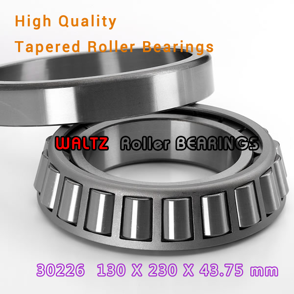 130mm Bearing 30226 7226E 30226A 30226J2 130x230x43.75  High Quality Single-row Tapered Roller Bearing Cone + Cup bering 30226 742