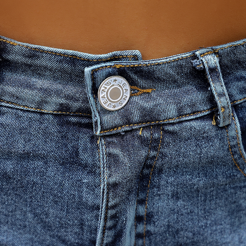 Fashion Women Push Up Skinny Slim Denim Shorts 27