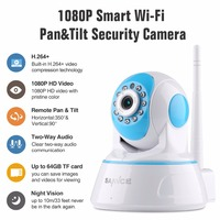SANNCE 1080P Wireless IP Camera Home Security IP Camera Wifi Surveillance Camera Night Vision CCTV Camera