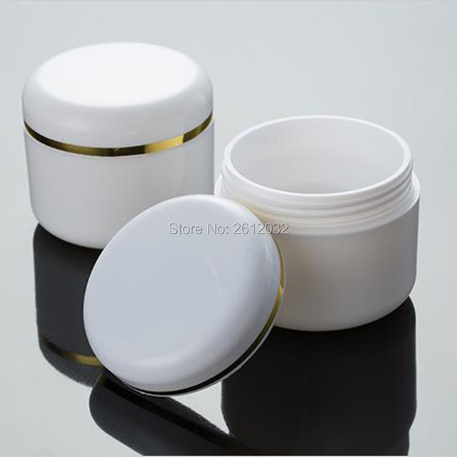 Clear Plastic Cosmetic Empty Jar Pot Face Cream Skin Lotion Container Holder 50g Rosen Apothecary Collagen Plumping Face Serum with Natural Retinol 1oz / 30ml