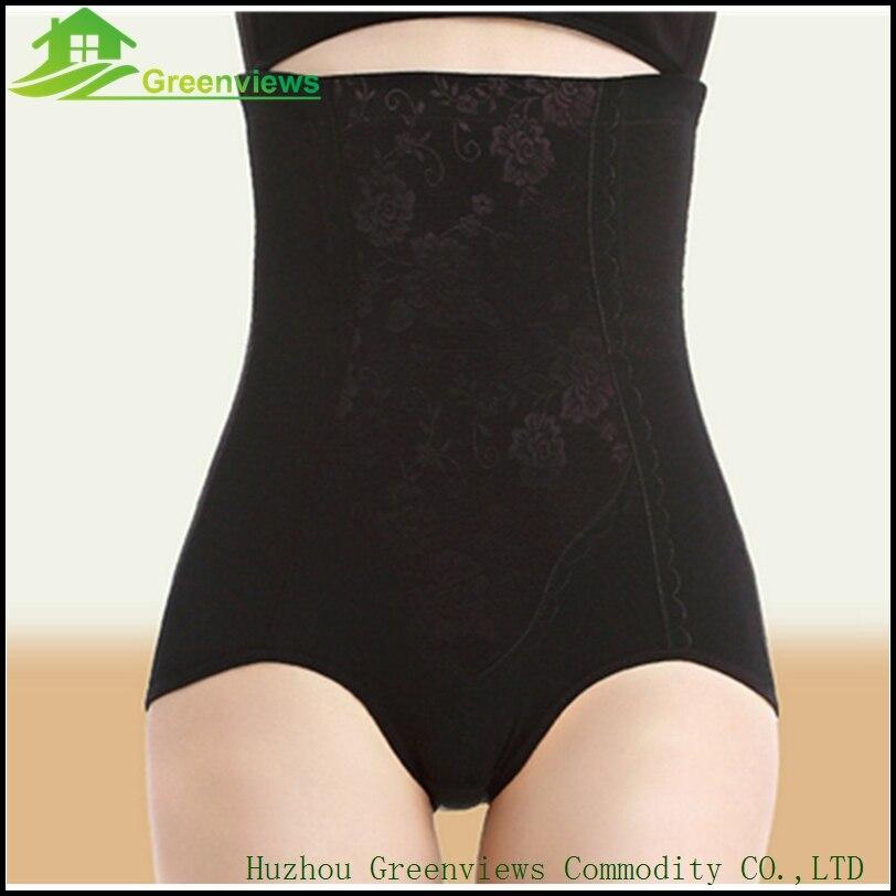 b2e580c47781e 1pcs lot Women High Waist Body Shaper Panties Seamless Tummy Belly Control  Waist Slimming Pants Shapewear