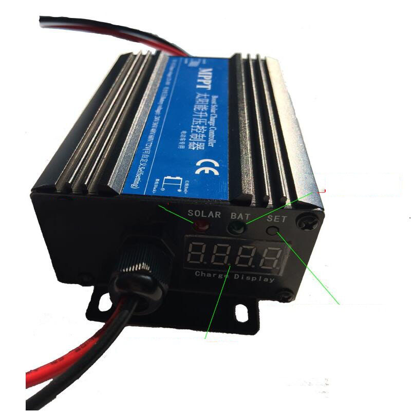 Solar Electric Vehicle charging Boost Controller 24V 36V 48V 60V 72V