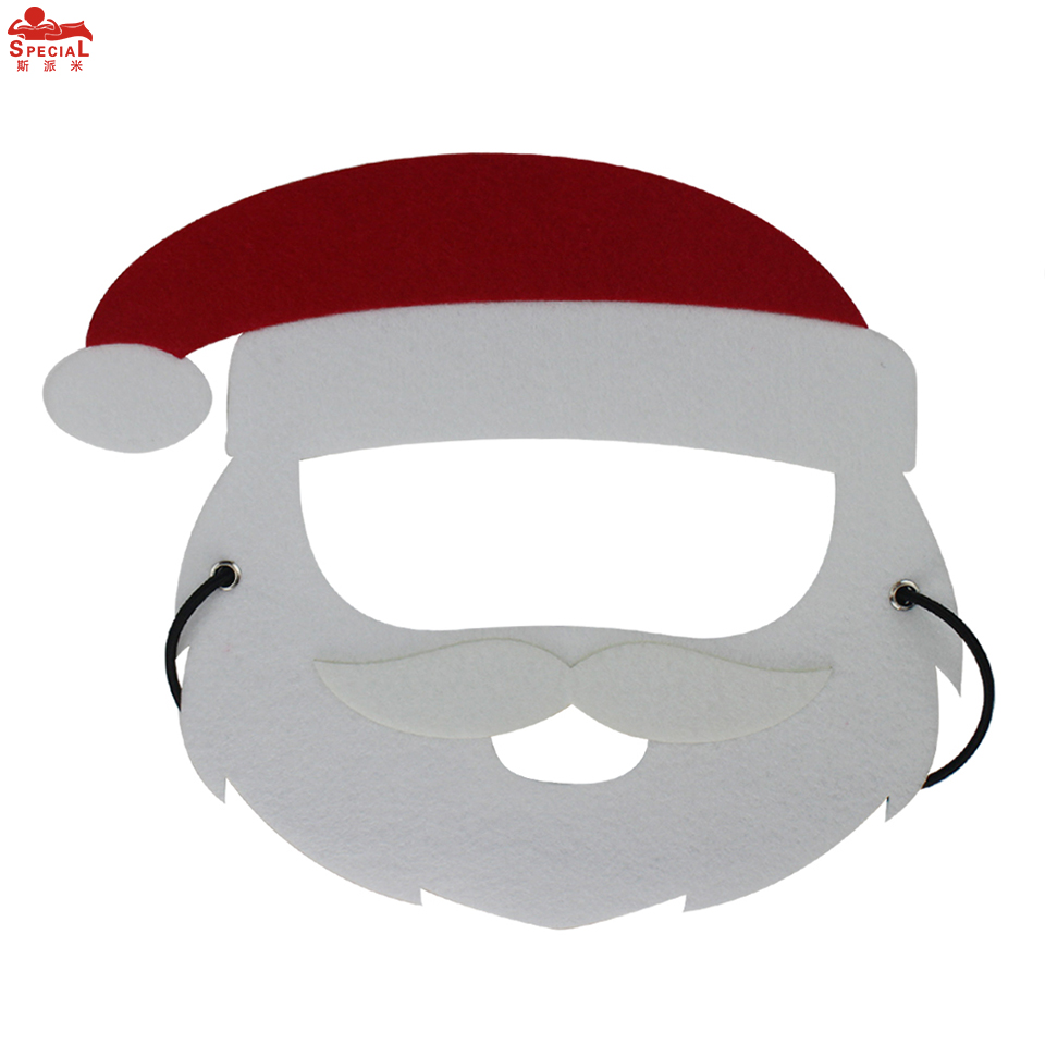 SPECIAL Santa mask Christmas gifts school concern dress up Reindeer mask cosplay Elf costumes stage show outfits nephew present