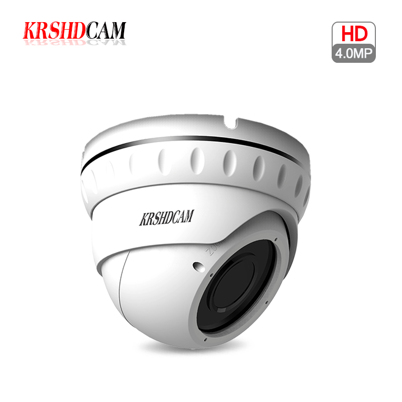 H.265/H.264 4.0MP IP Camera FULL HD 2688*1520 POE indoor dome zoom lens onvif2.4 Night Vision security CCTV camaras de seguridad комплект ковриков в салон автомобиля novline autofamily kia sorento 2009 2012