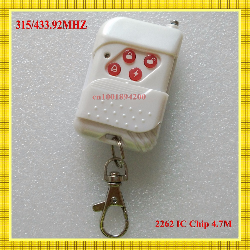 433 92MHZ Wireless Remote Control Transmitter for Wireless GSM Auto Security Alarm System 315 433 PT2262