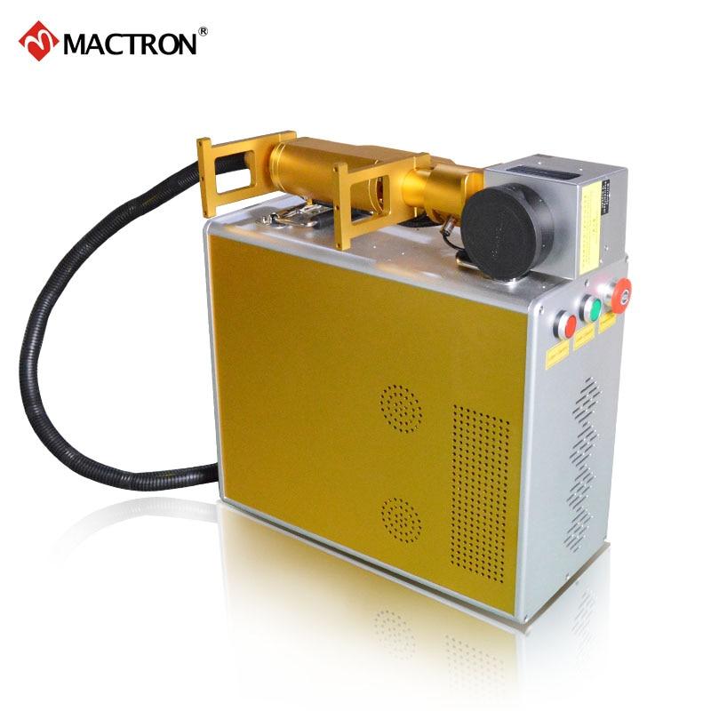 Marcatore laser portatile Mactron marca 20W fibra portatile per - Attrezzature per la lavorazione del legno - Fotografia 4