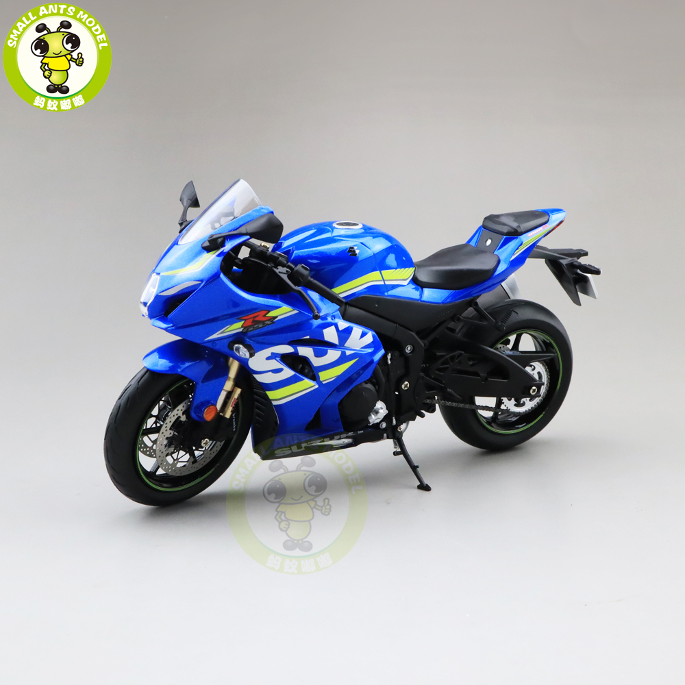 1/12 Suzuki Genuine GSX-R 1000R Diecast Motorcycle Model Toys Boy Girl MAN Gifts Collection