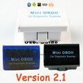 Lector de Código OBD2 V2.1 Super MINI Adaptador de Escáner ELM327 Bluetooth OBDII del OLMO 327 Del Coche de Auto Más Barato