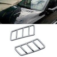 Car Interior Matt Chrome Car Sticker Door Window Control Panel Air Vent Cover Trim For Mercedes