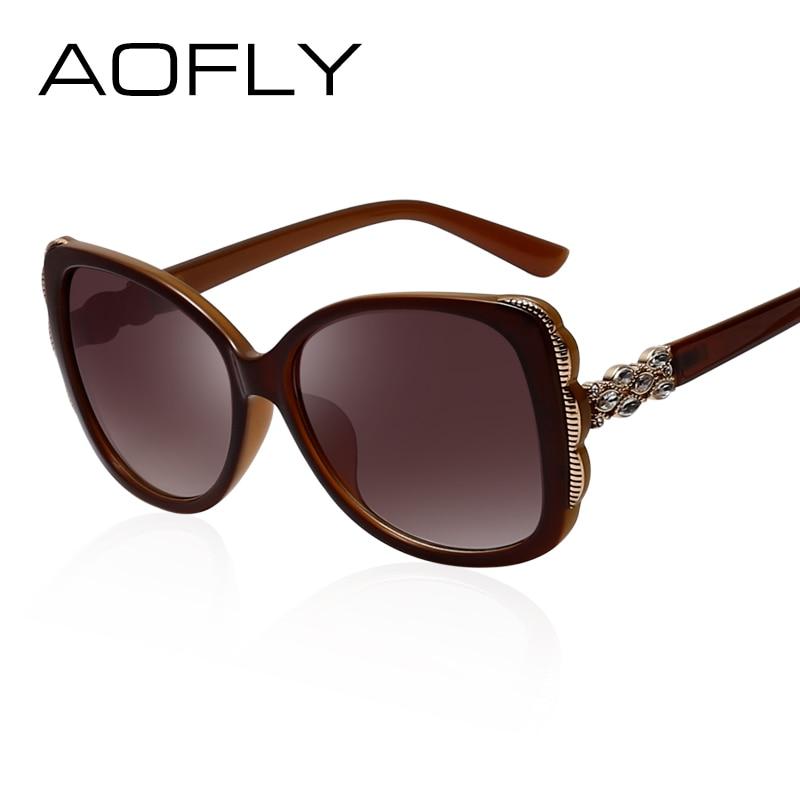 3a374a60cba53 AOFLY Estilo Senhora Óculos de Sol Da Moda Óculos De Sol Das Mulheres de  Verão Marca Design Quadrado Gradiente Feminino Óculos Grandes Óculos de  armação ...