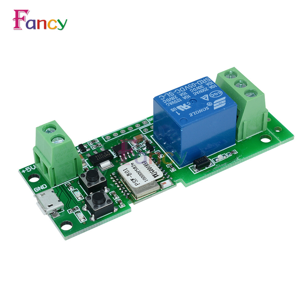 5V 12V Sonoff WiFi Wireless Smart Switch Relay Module For Smart Home Apple for Android IOS esp 07 esp8266 uart serial to wifi wireless module