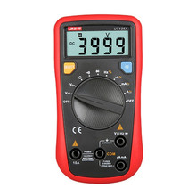 UNI-T UT136A Digital Multimeter Auto Range LCR Meter Multitester Data Hold DMM LCD Digitale Tester Mini Multimetro