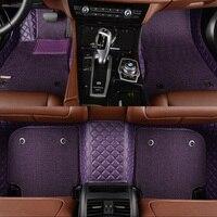 3D Custom fit автомобильные коврики для Honda Accord Civic CRV город вариабельности сердечного ритма Vezel Crosstour Fit Автомобиль Стайлинг heavey ковровое покрытие