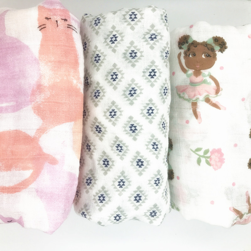 150g Baby Blanket Muslin Swaddle Wraps Cotton Baby Blankets Newborn Muslin Blankets