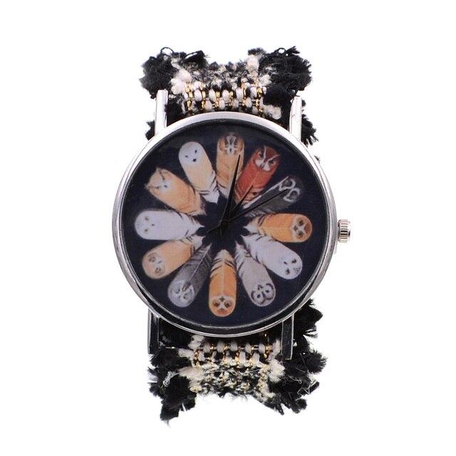 Lace ribbon Bohemia bracelet watch
