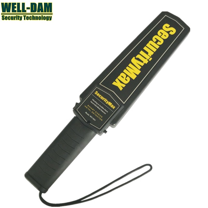 Best metal detector in china ! Wholesale 25PCS Hand Held Metal Detector Security Metal Detector цена