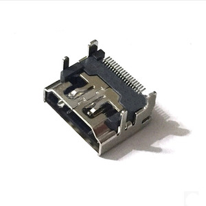 Prise HDMI Type A, 10 pièces, 19 broches, interface d'ordinateur SMT
