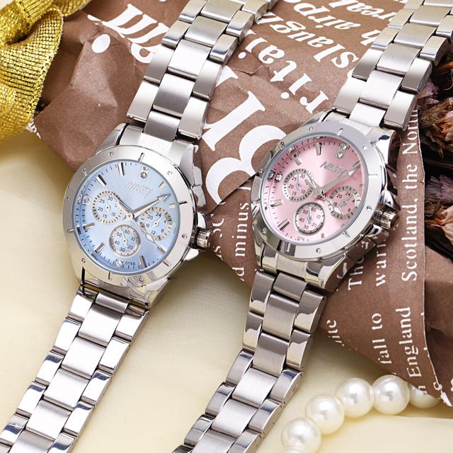 Stainless Steel Quality Diamond Ladies Quartz Watch