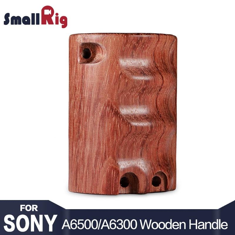 цена на SmallRig Camera Wooden Handgrip for Sony A6000 / A6300 / A6500 ILCE-6000/ ILCE-6300 / ILCE-6500 SmallRig cage - 1970